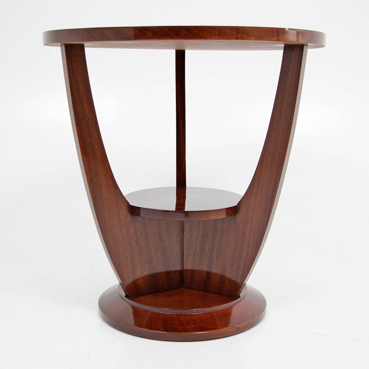 Lovely French Art Deco Side Table, Circa 1920s 2