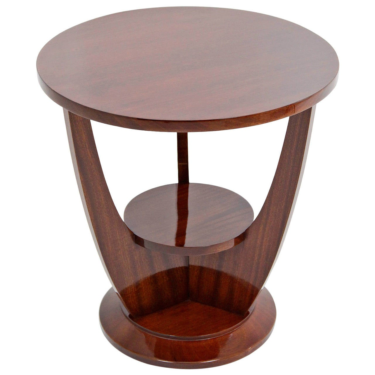 Lovely French Art Deco Side Table, Circa 1920s 1