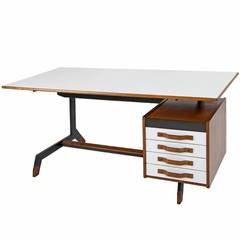 Nice italian Working Desk, circa 1970s
