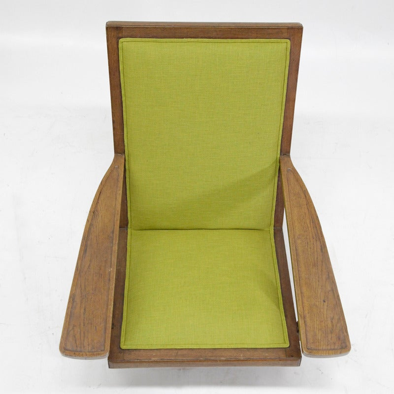 Unusual Midcentury Armchair at 1stdibs