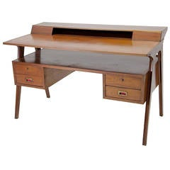 Lovely Italian Work Desk, circa 1970s