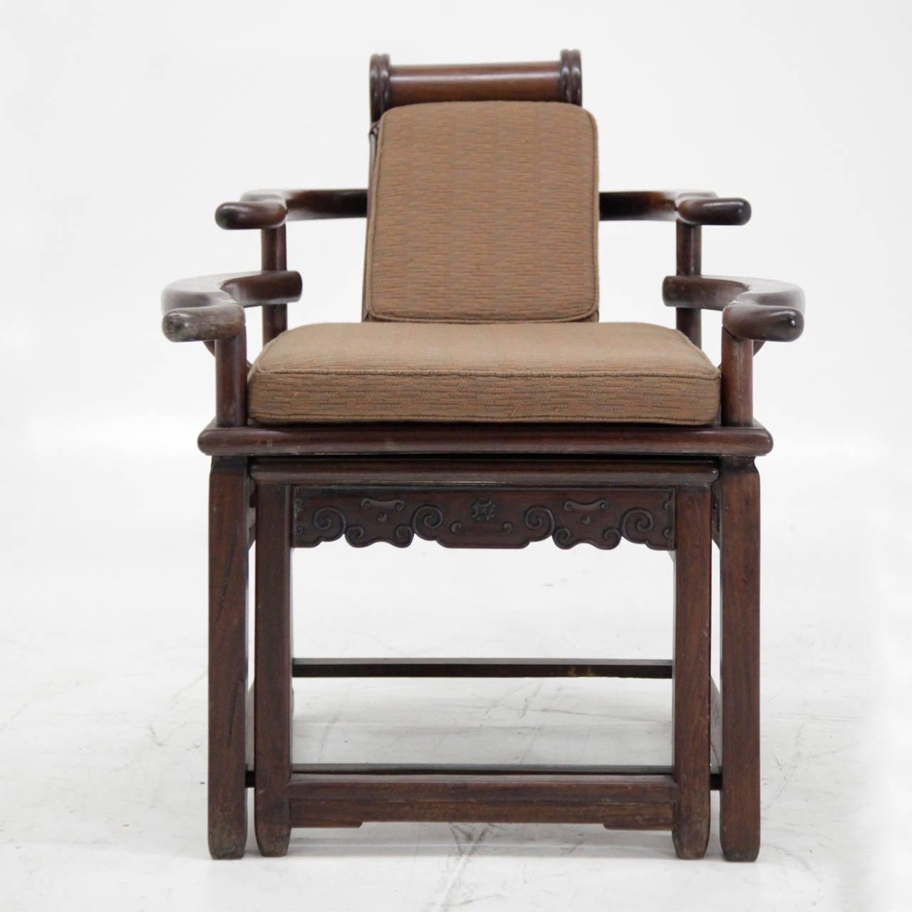 Swell Exceptional Asian Recliner Or Deck Chair Circa 1900 1910 Creativecarmelina Interior Chair Design Creativecarmelinacom