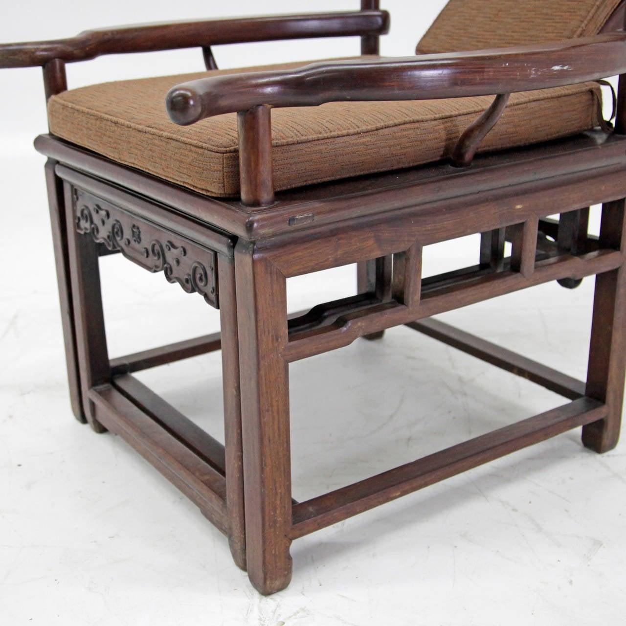 Remarkable Exceptional Asian Recliner Or Deck Chair Circa 1900 1910 Creativecarmelina Interior Chair Design Creativecarmelinacom