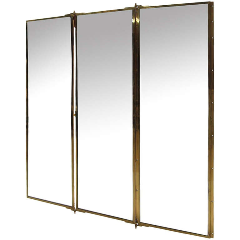 Miroir brot tryptich mirror from the yves saint laurent for Laurent voulzy le miroir