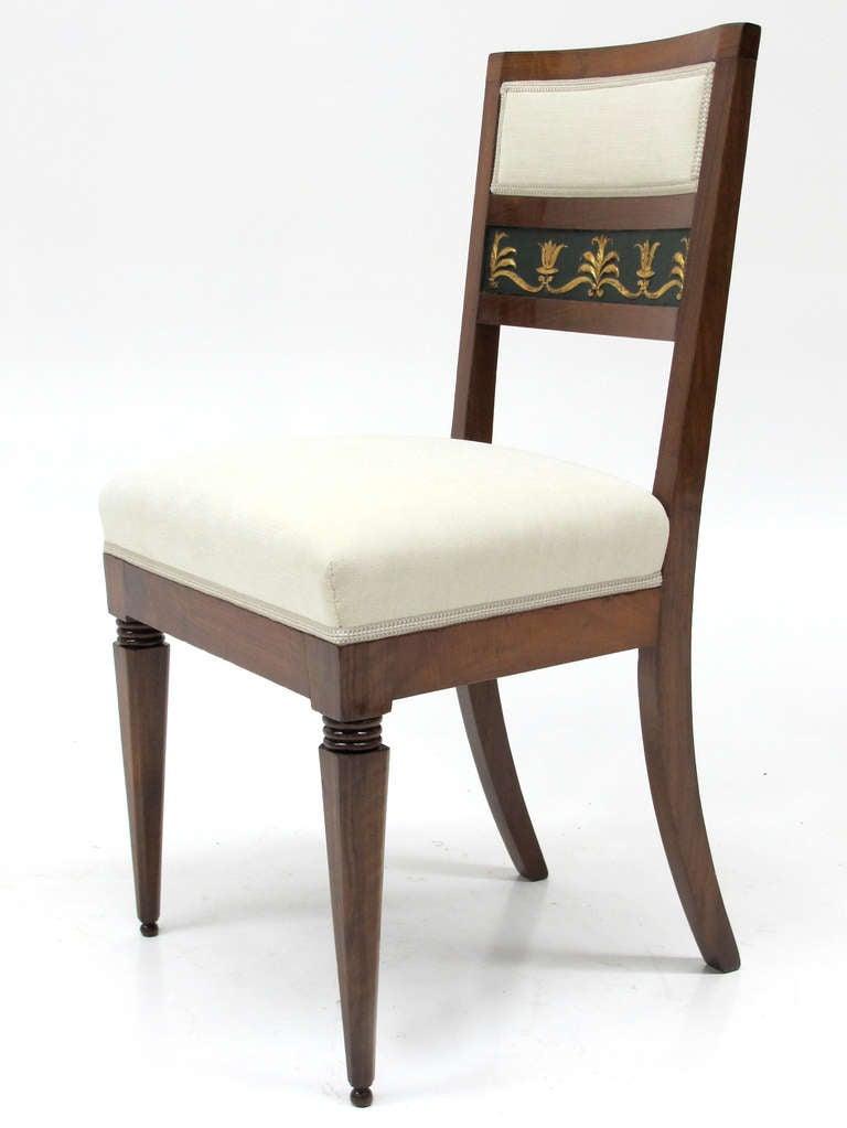 Set Of Six Italian Biedermeier Chairs Circa 1820 For Sale At 1stdibs