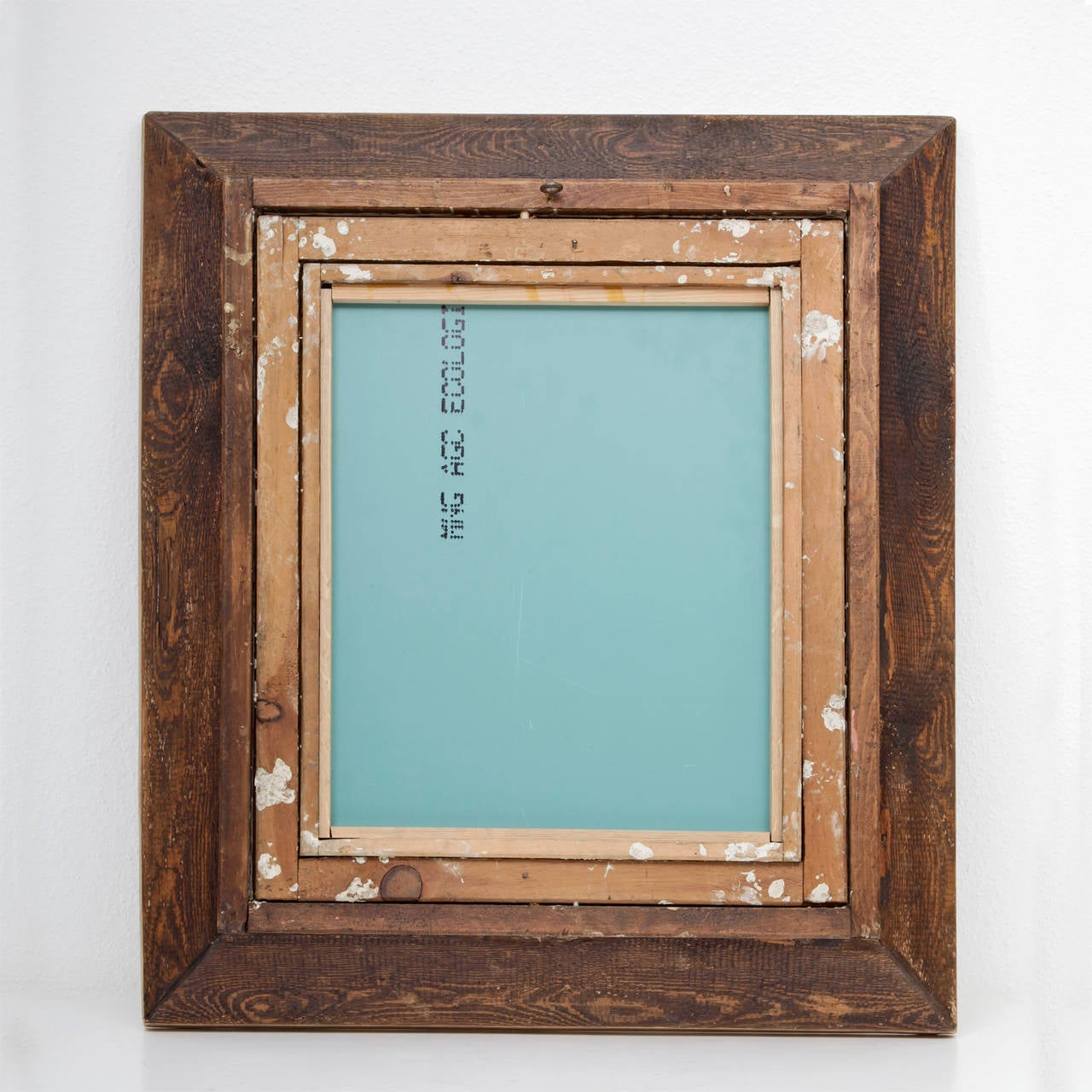 Stucco On Frame : Mirror in richly ornamented stucco frame s at stdibs