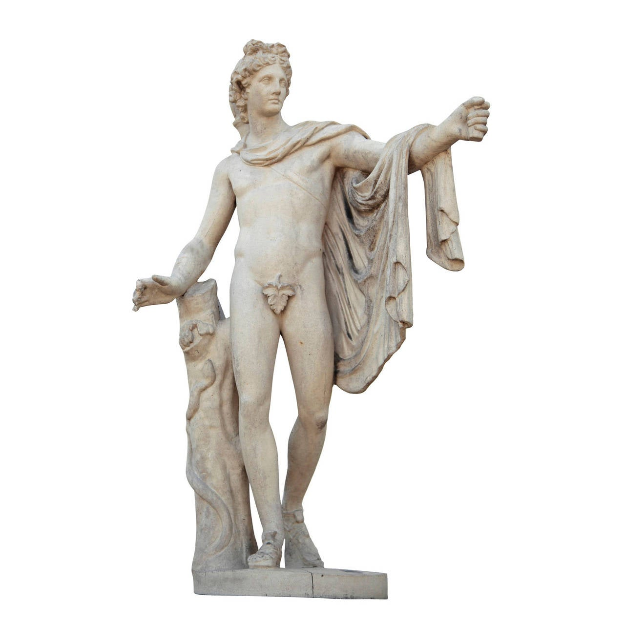 Pair of French Sculptures, Diana and Apollo, Late 19th Century 3