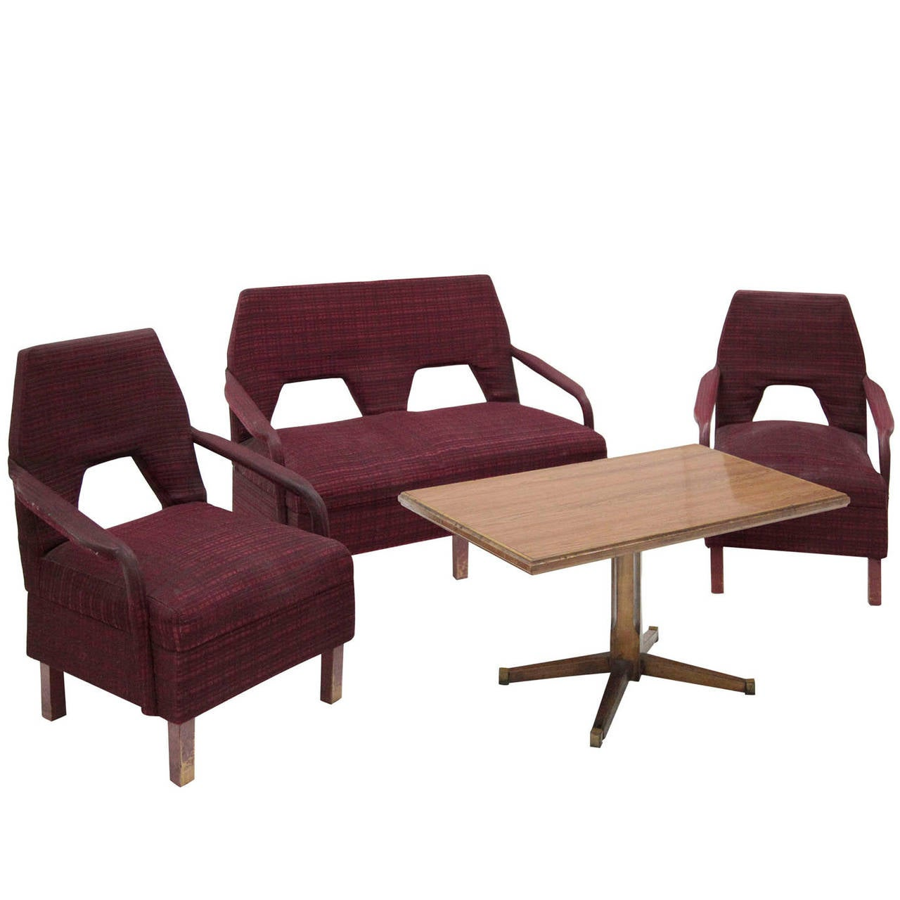 italian living room set at 1stdibs. Black Bedroom Furniture Sets. Home Design Ideas