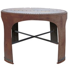 Iron Industry Table from the Early 20th Century