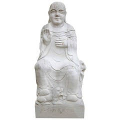 Marble Buddha from the 20th Century
