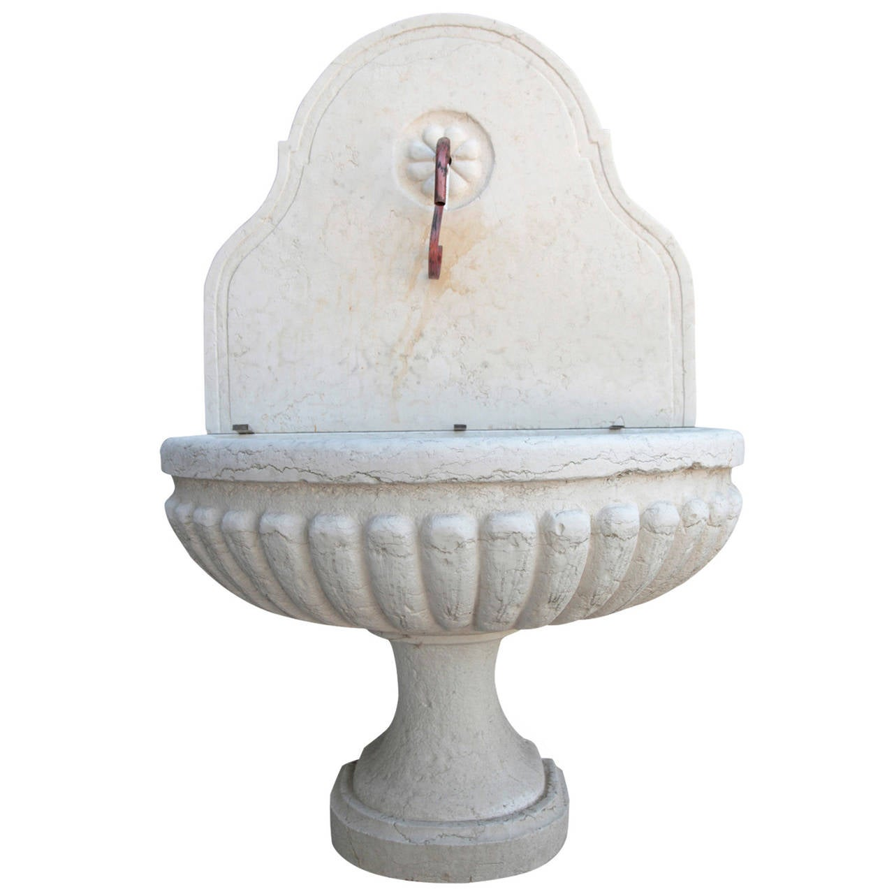 Marble Wall Fountain from the 20th Century.