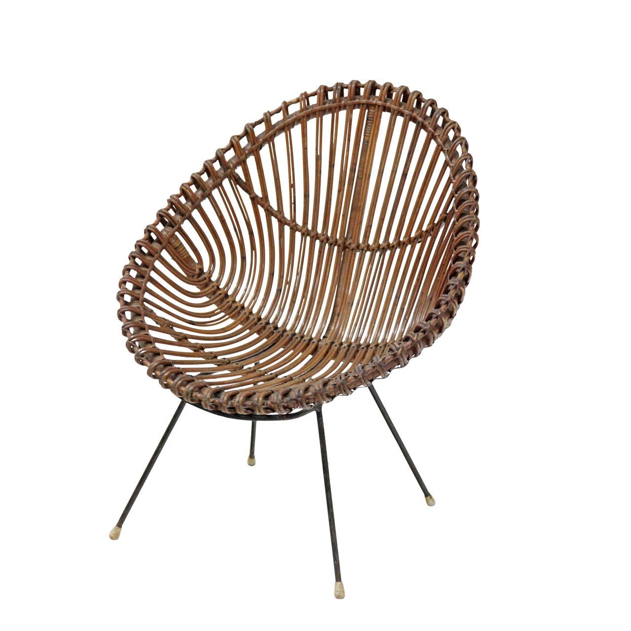 Wicker Chair For Sale at 1stdibs