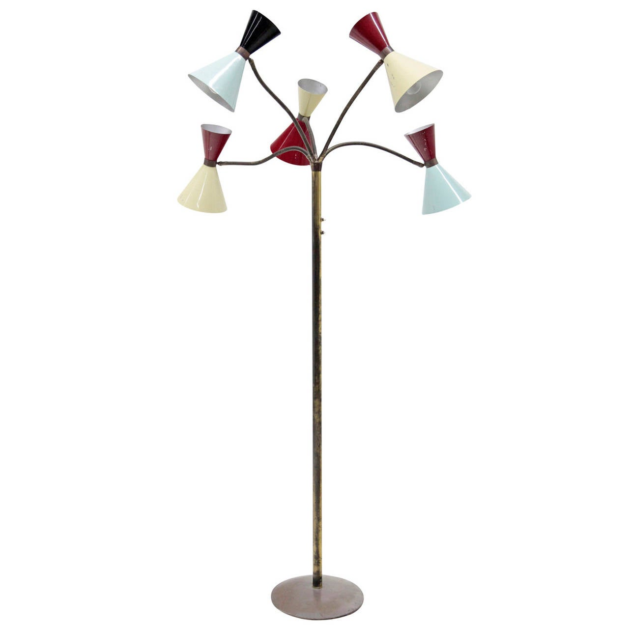 Italian floor lamp from the 1970s at 1stdibs for 1970s floor lamps