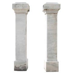 Pair of Italian Pillars from the 19th or 20th Century
