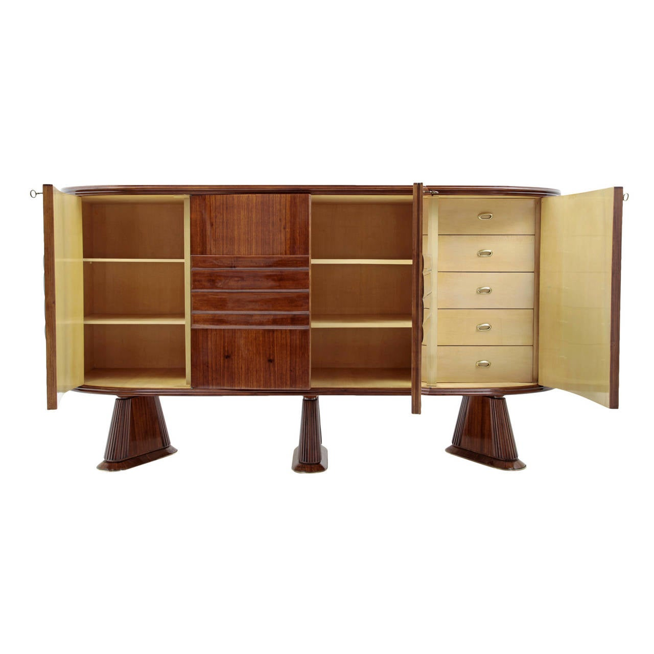 Elegant italian sideboard from the 1940s for sale at 1stdibs for Sideboard 2 50 m