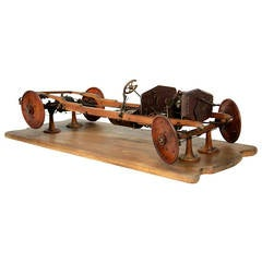 Early Technical Model Car from the Beginning of the 20th Century
