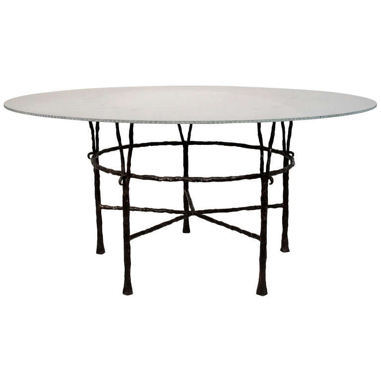 Dining Room Attendant: Dining Table By Garouste And Bonneti At 1stdibs