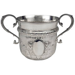 Silver Champagne Wine Cooler by Walter and John Barnard, London, 1889