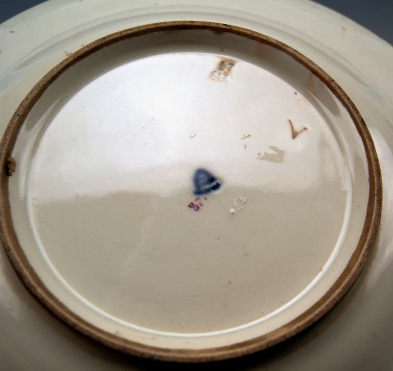 Plate Imperial Viennese Porcelain Manufactory dated 1816 For Sale 2
