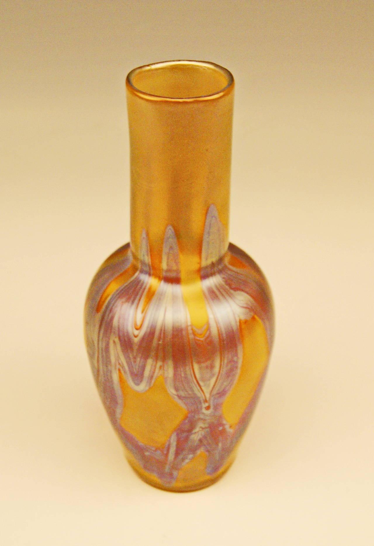 Vase Loetz Widow Art Nouveau with Phaenomen Decor, circa 1900 4