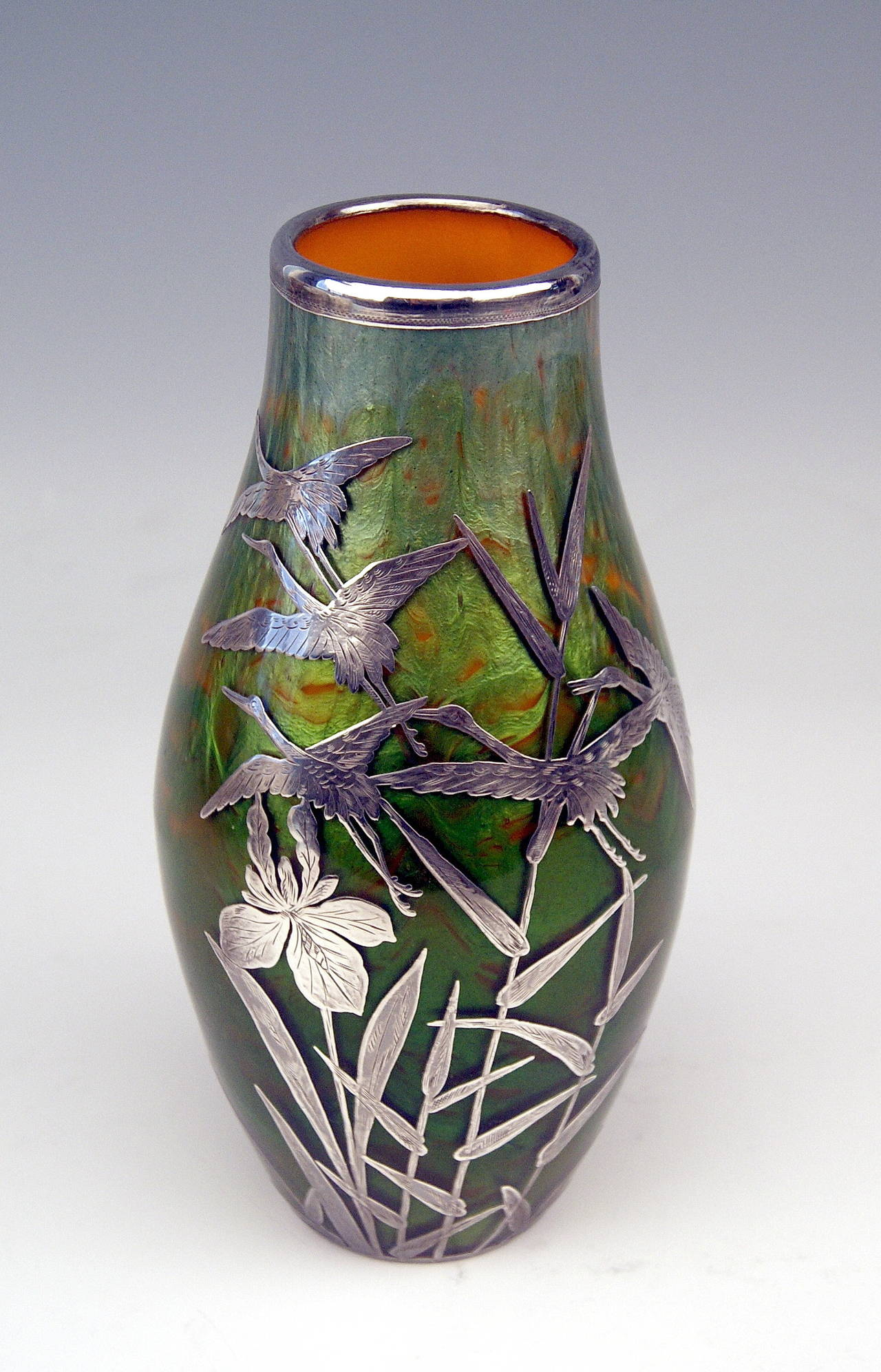 Vase Loetz Widow Klostermuehle Bohemia Art Nouveau 