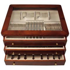 Silver Dresden Baroque 109-Piece Flatware for 12 by Wilkens, Germany circa 1925