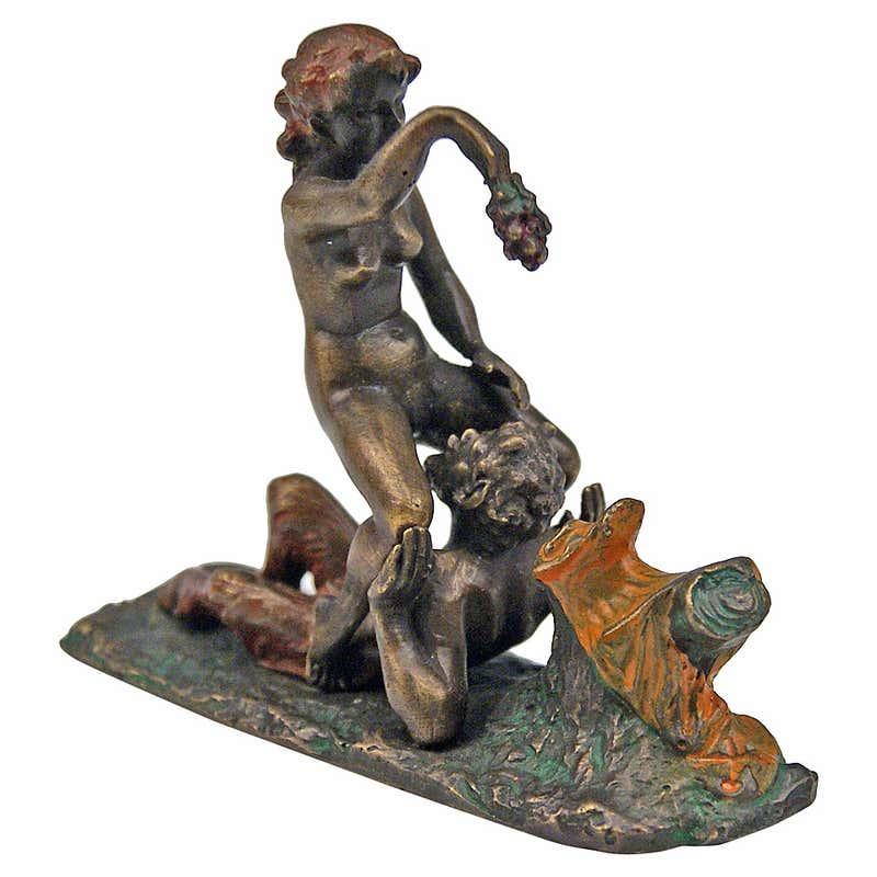 Vienna Bronze figure signed by Carl Kauba, early 20th century
