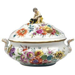 Meissen Lidded Soup Tureen for Collection 19th C.