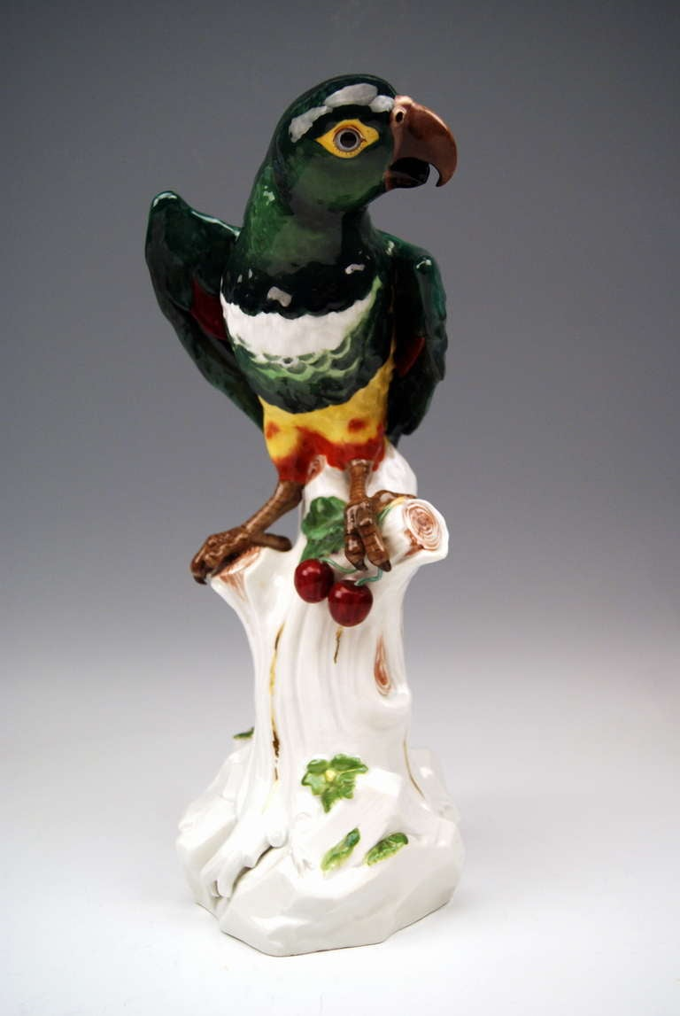 Meissen outstanding animal figurine: