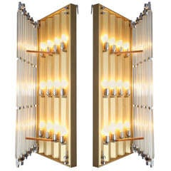 a pair of very big Industrial sconces by Austrian Architect Thurnher
