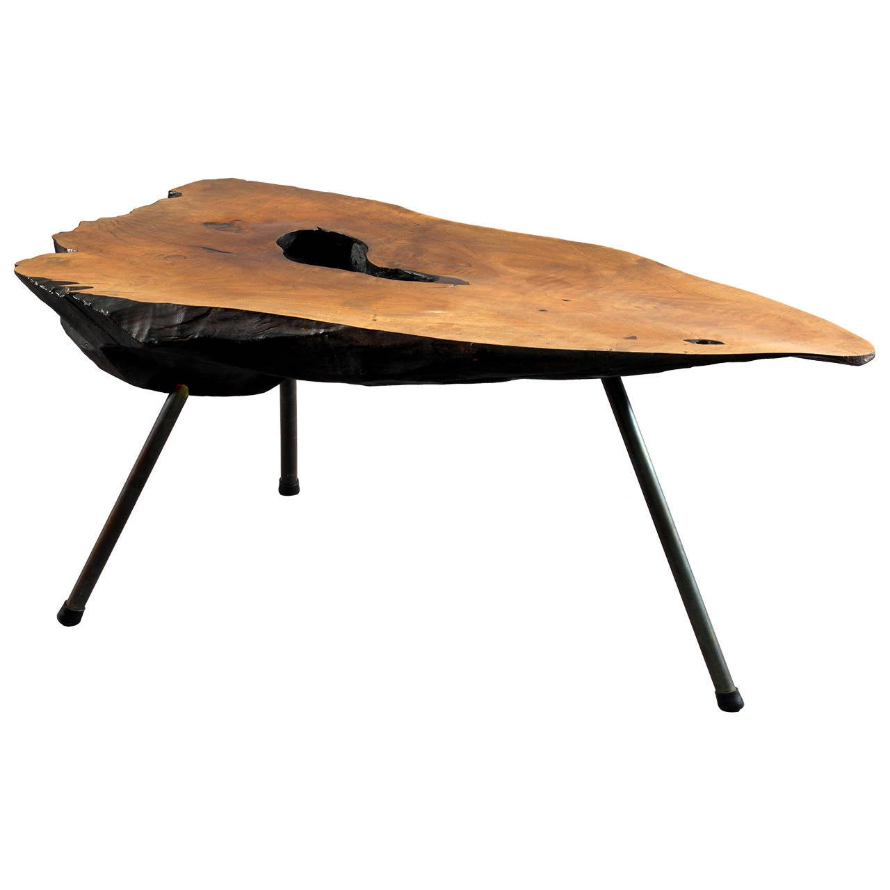 Original Huge Carl Aub Ck Tree Trunk Table Vienna 1950 At