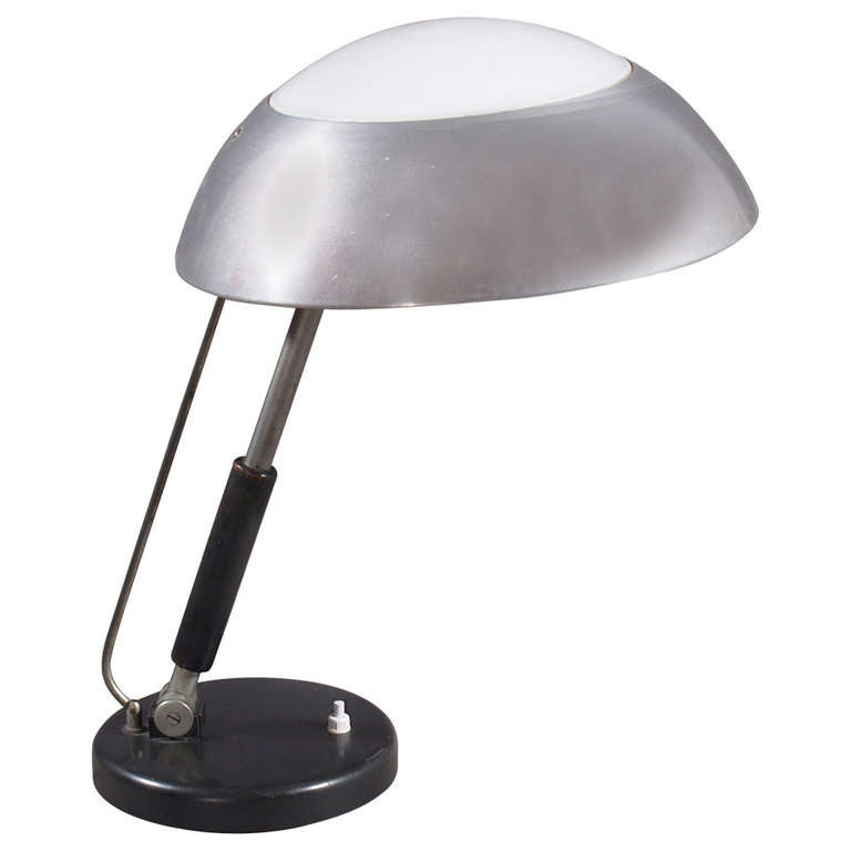 Karl trabert amazing industrial design desk lamp germany for Industrial design table lamps