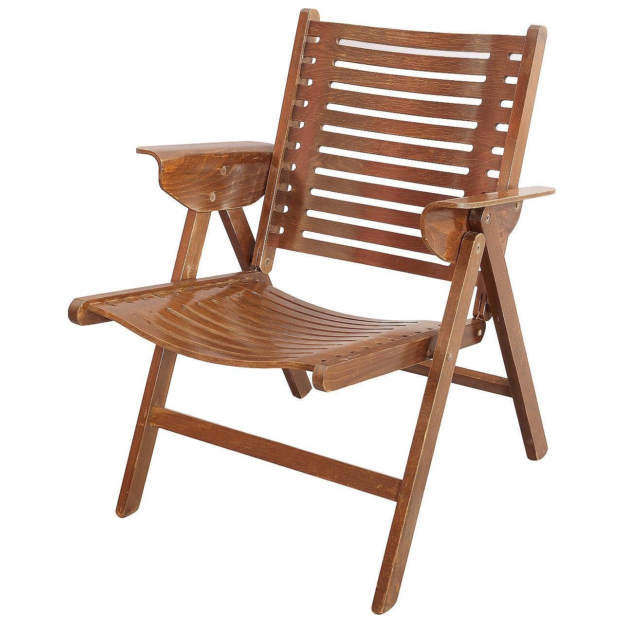 Astounding Iconic Vintage Folding Rex Lounge Chair By Niko Kralj For Theyellowbook Wood Chair Design Ideas Theyellowbookinfo