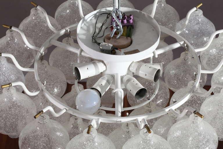 Austrian Ceiling Flush Mount Fixtures, Model Tulipan, Designed by J.T. Kalmar For Sale