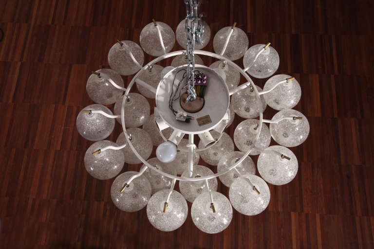 Ceiling Flush Mount Fixtures, Model Tulipan, Designed by J.T. Kalmar In Excellent Condition For Sale In Vienna, Vienna