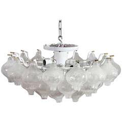 Ceiling Flush Mount Fixtures, Model Tulipan, Designed by J.T. Kalmar