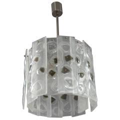 Italian Hanging Lamp Attributed by Mazzega Murano, 1970