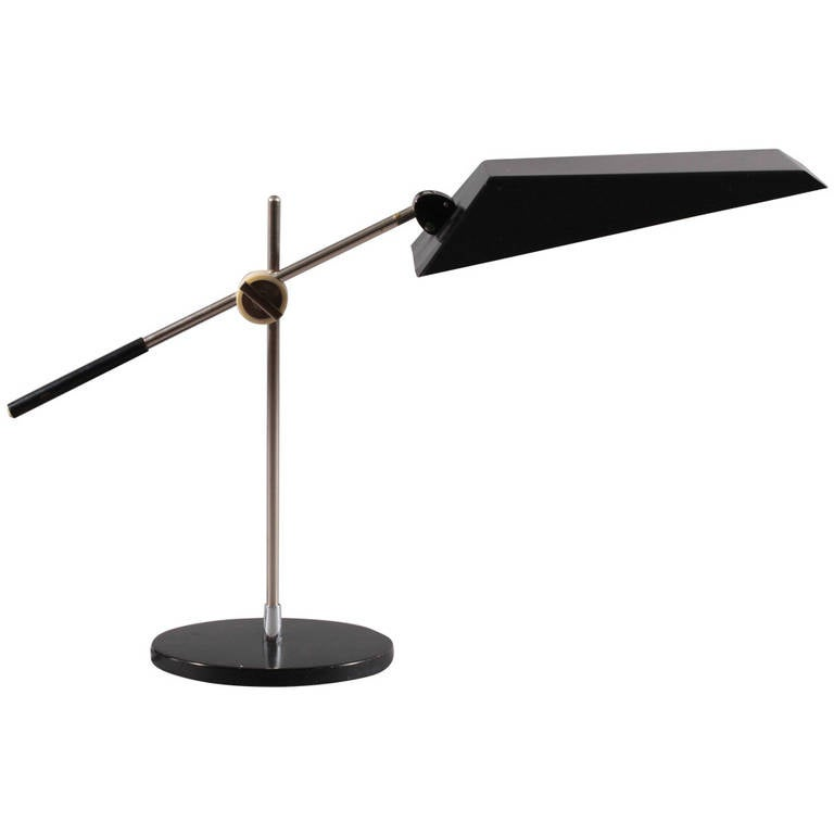 Kaiser idell industrial design writing desk lamp 1950 at for Industrial design table lamps