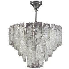 Murano Glass Hanging Lamp, Italy, 1960