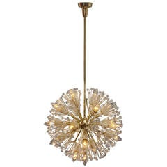 """Hanging Lamp """"Snowball"""" Designed by Emil Stejnar, Vienna, 1950"""