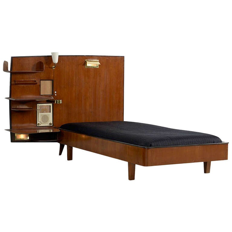Bed From The Royal Hotel Naples By Gi Ponti 1948 At 1stdibs