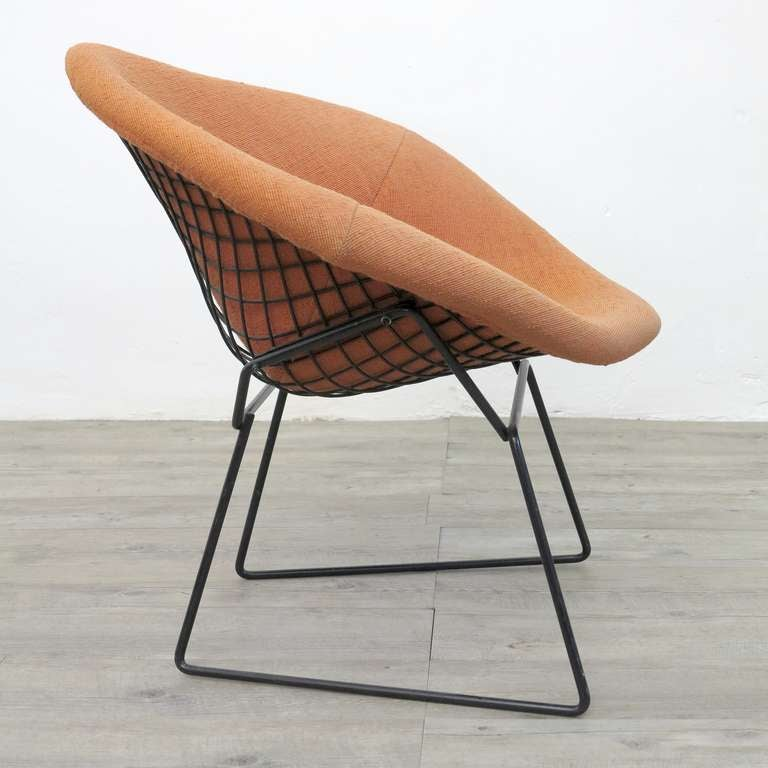 diamond chair edited by harry bertoia for knoll 1952 at 1stdibs. Black Bedroom Furniture Sets. Home Design Ideas