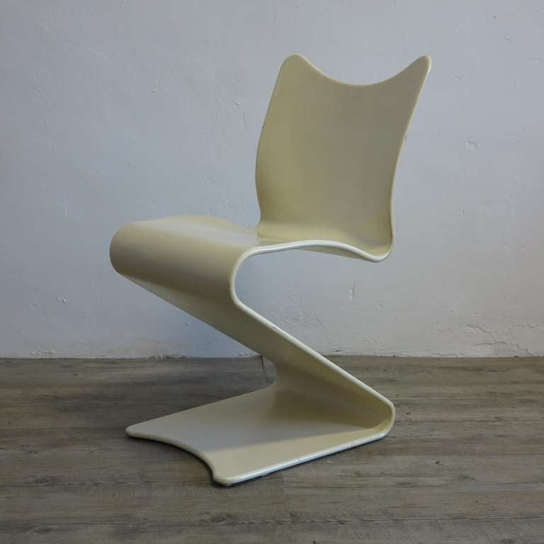 original verner panton s chair no 275 thonet 1965 at 1stdibs. Black Bedroom Furniture Sets. Home Design Ideas