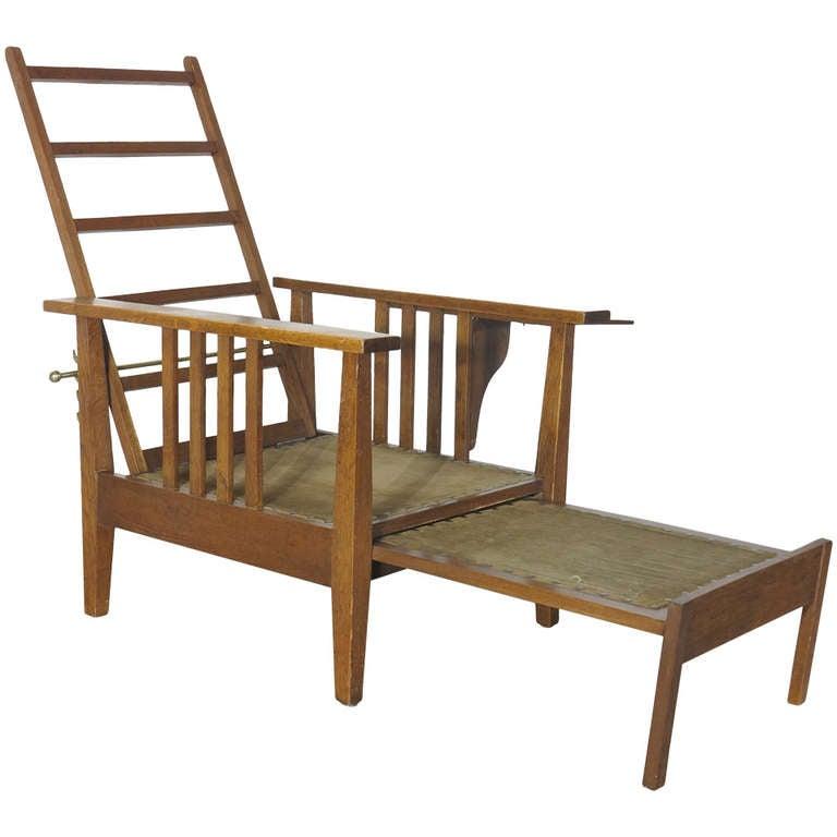 multifunction armchair bauhaus 1930 at 1stdibs. Black Bedroom Furniture Sets. Home Design Ideas