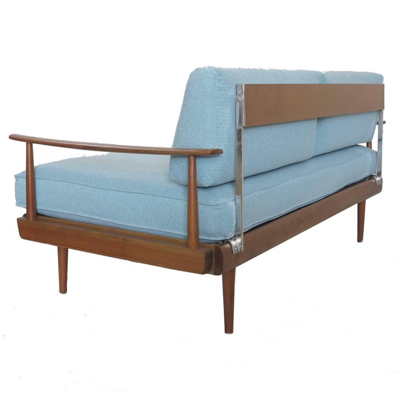 Daybed Or Sofa Antimott Turquoise Blue By Wilhelm Knoll 1950 1960 At 1stdibs