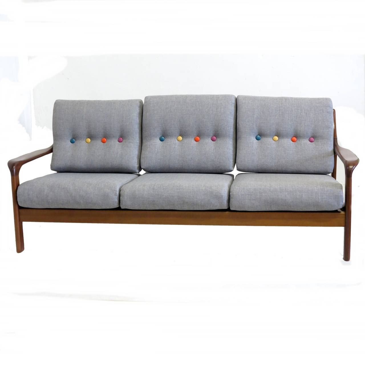 Sofa or daybed in the scandinavian style 1950 1960 at 1stdibs for Scandinavian style sofa