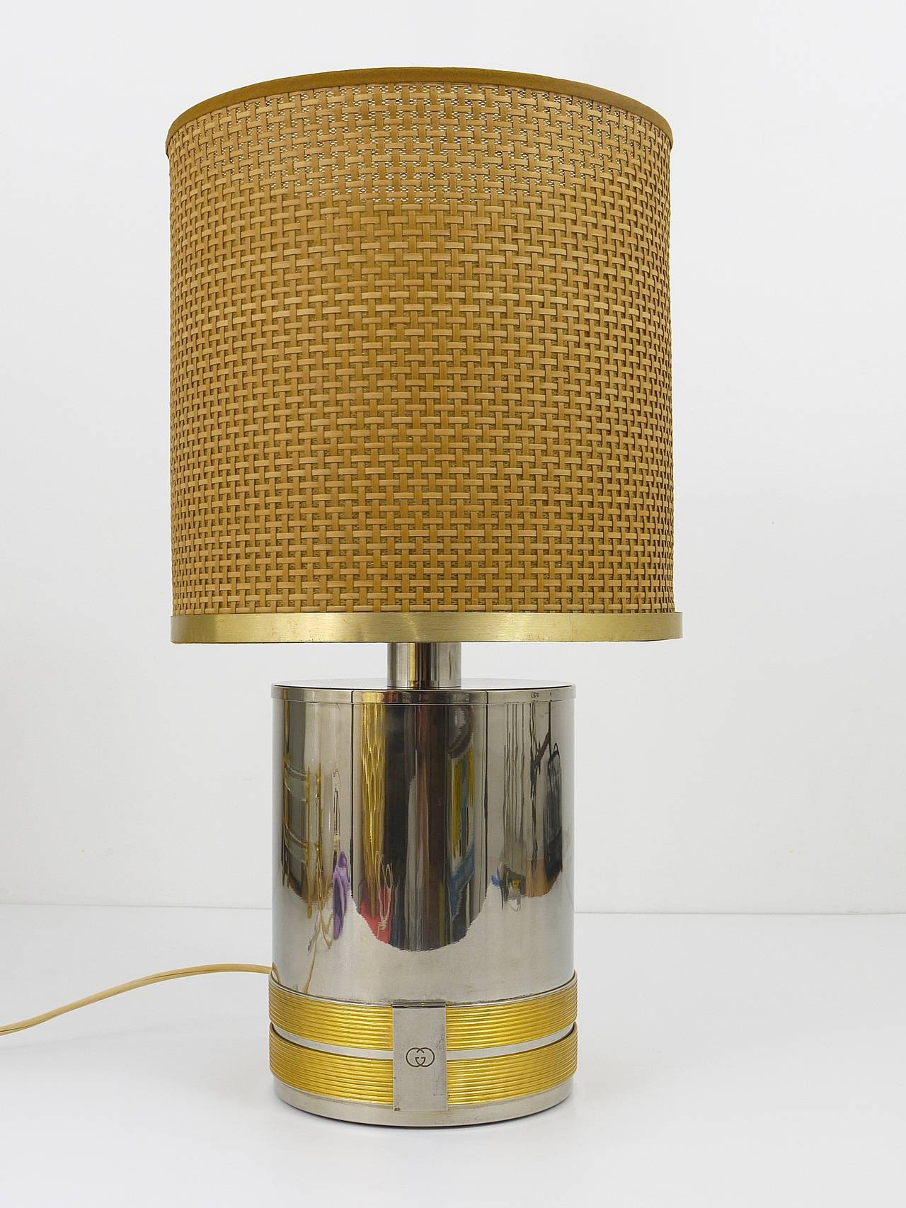 Outstanding Original Gucci Italy Table Lamp 1970s At 1stdibs