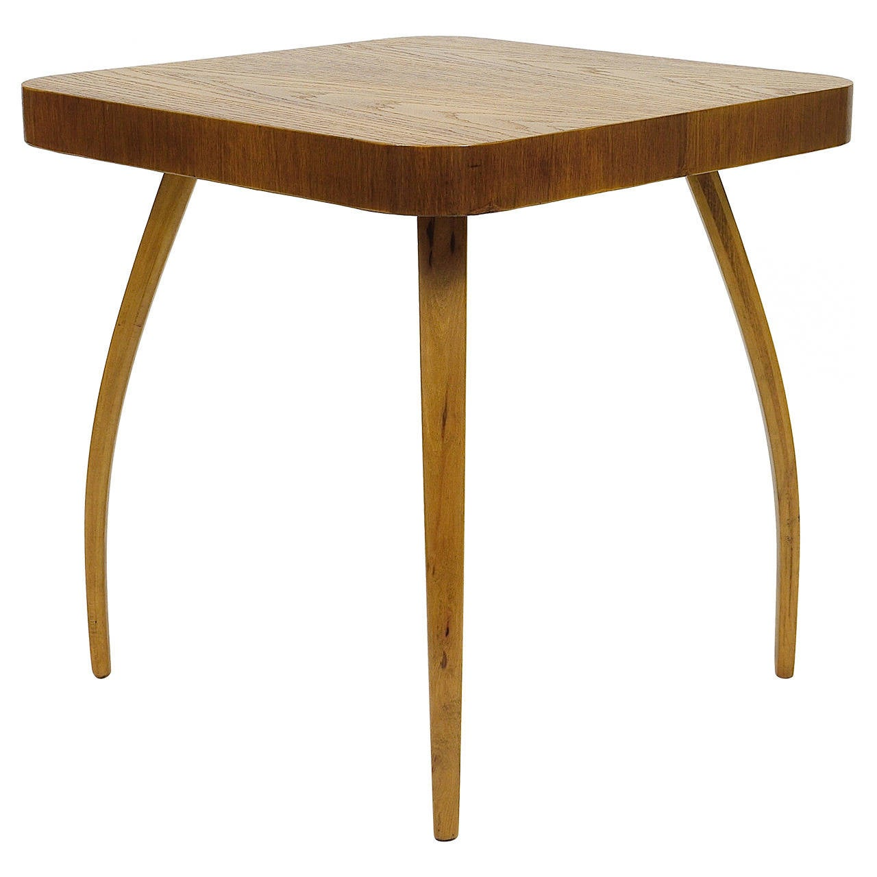 1930s Spider Side Table H259 by Jindrich Halabala, Bauhaus, Excellent Condition