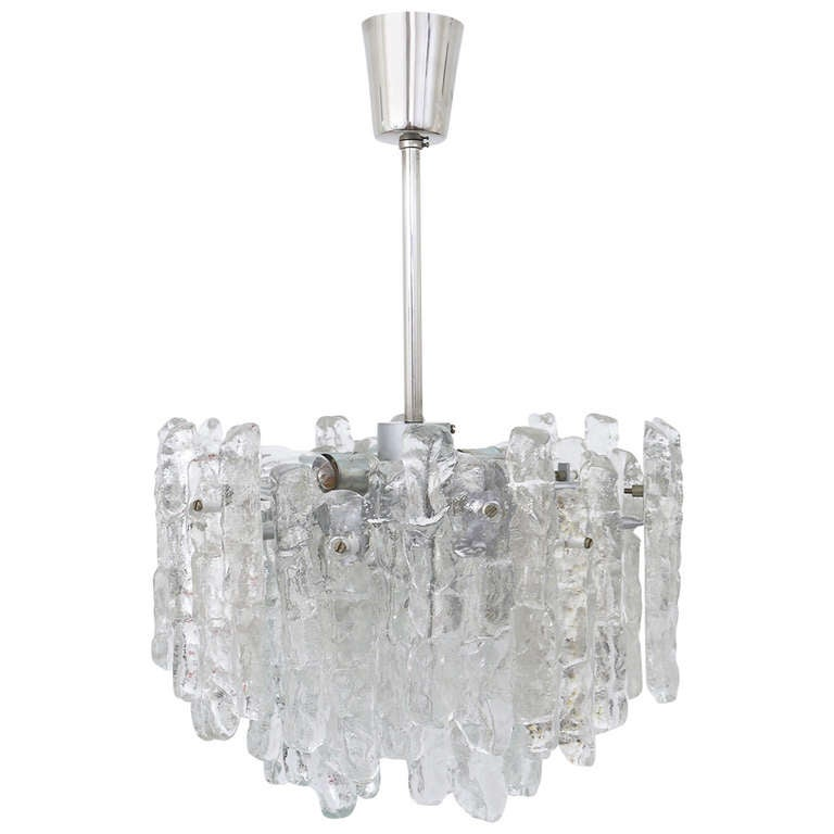 Kalmar austria icicle ice glass viennese chandelier from the 1960s kalmar austria icicle ice glass viennese chandelier from the 1960s for sale aloadofball Image collections