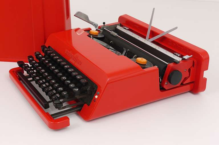 Italian Valentine Typewriter by Ettore Sottsass & Perry A. King for Olivetti 1969 For Sale